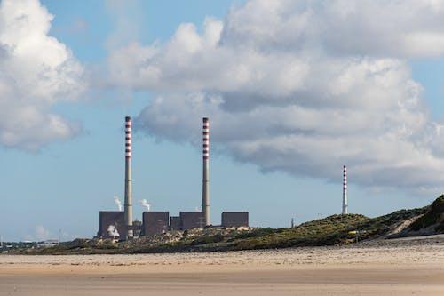 Imagine de stoc gratuită din fabrică, nisip, nori