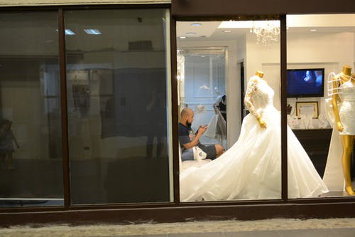 Ingyenes stockfotó Esküvői ruha témában