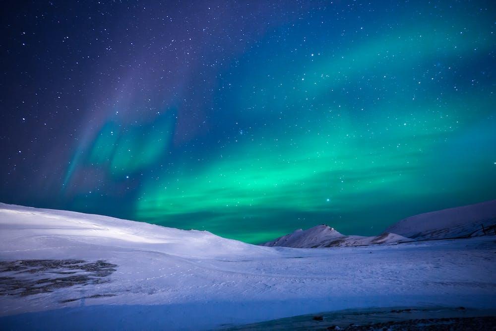 вопросах, небо крайнего севера фото ночью типа негатив
