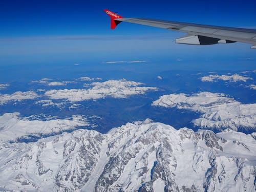 Безкоштовне стокове фото на тему «вид, гори, крило літака»