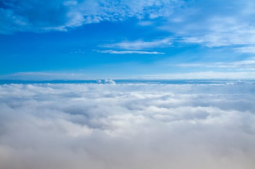 Nhìn Từ Trên Cao Của Những đám Mây