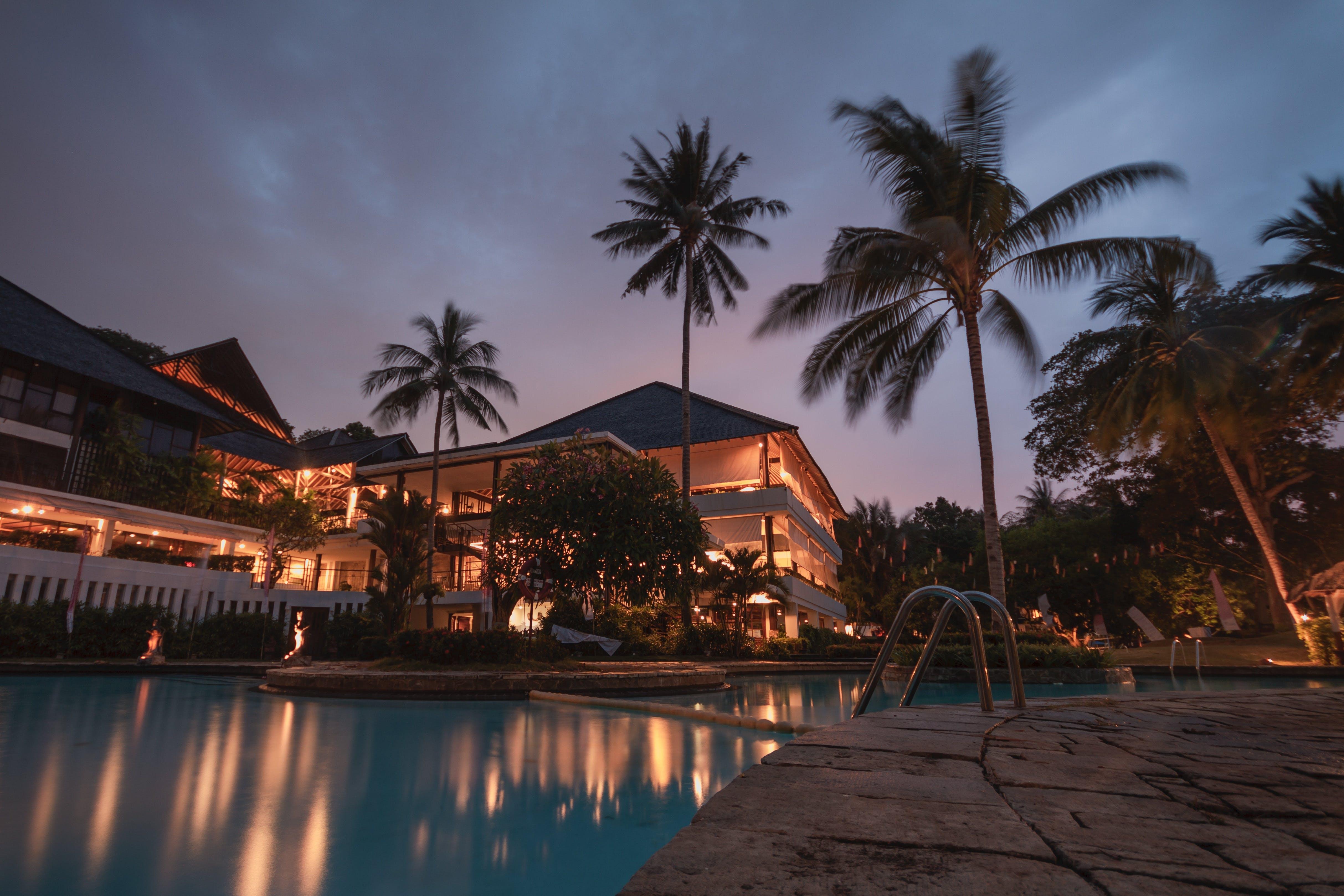 architektur, badeort, beleuchtung