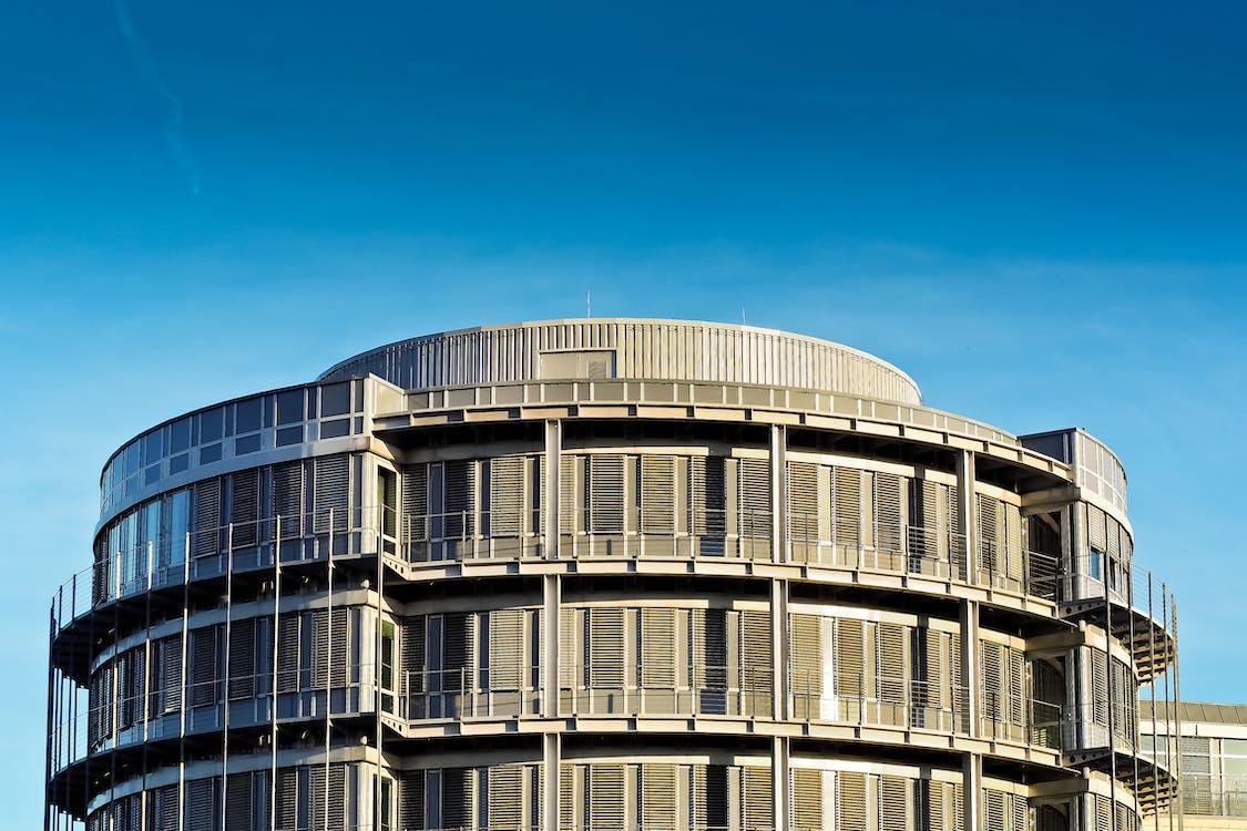 arkkitehtuuri, futuristinen, ikkunat