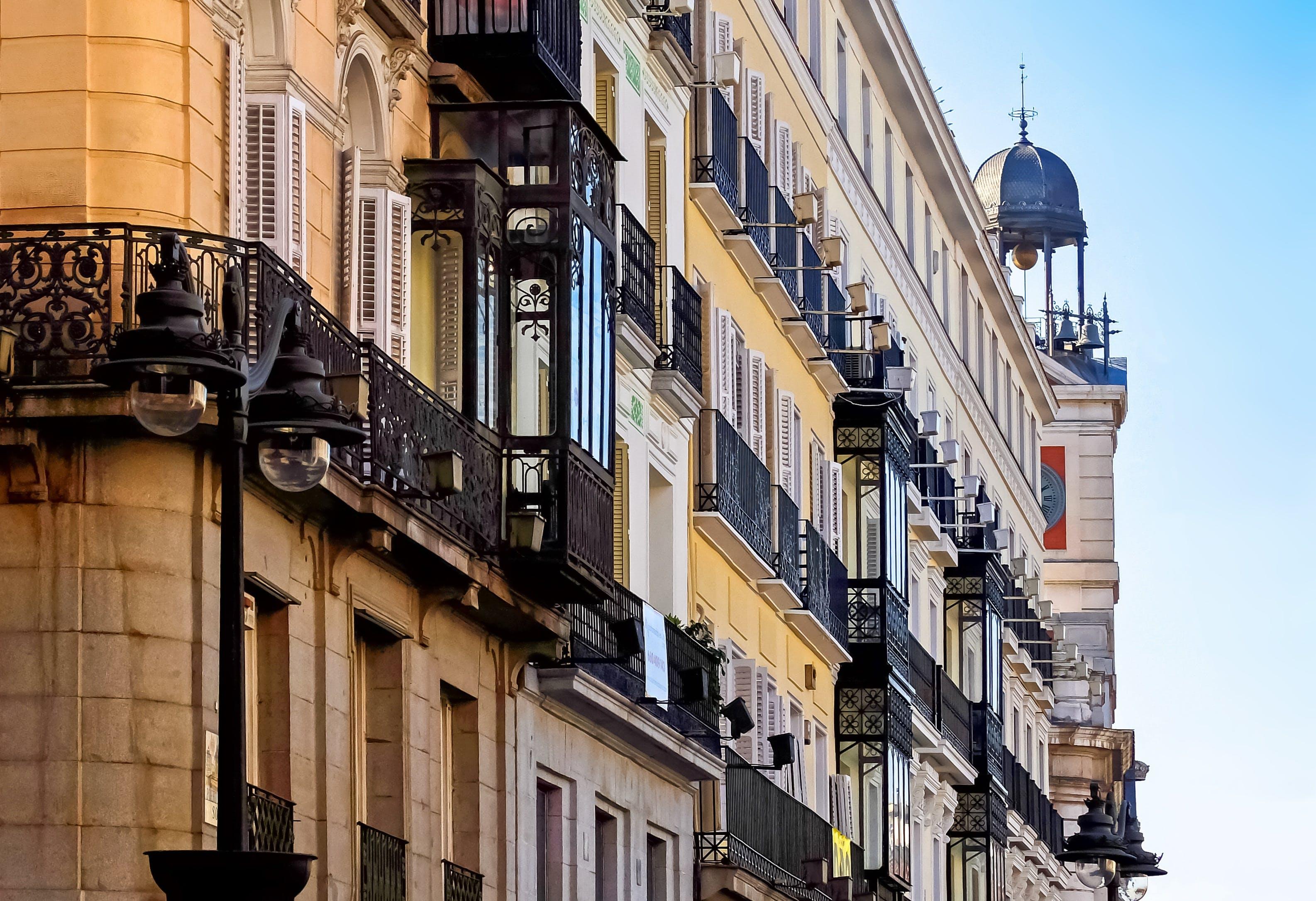 Apartment Buildings Against Sky