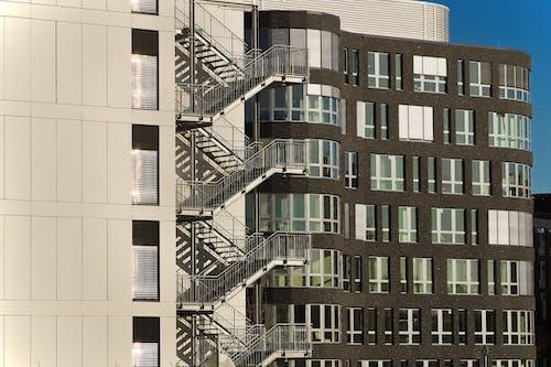 Immagine gratuita di acciaio, architettura, bicchiere, città