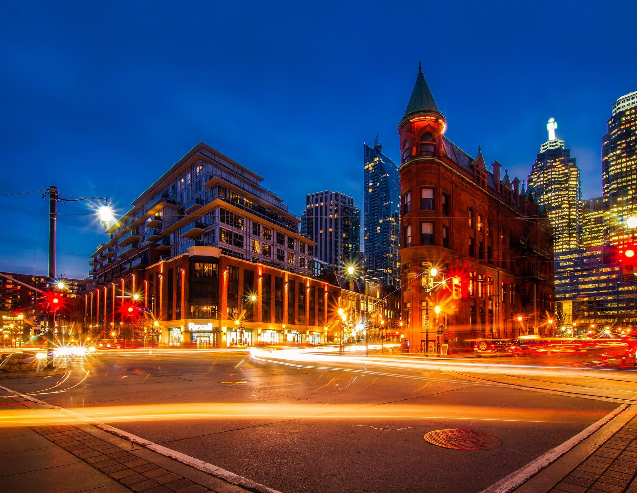 HDR, 交通, 交通系統, 光迹 的 免费素材照片