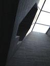 light, black-and-white, building