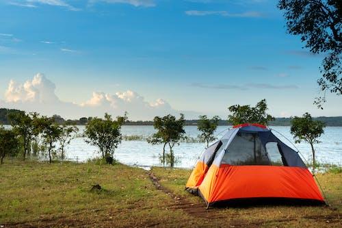 帳篷, 海, 海濱, 海灘 的 免费素材照片
