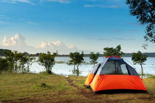 Photos gratuites de bord de mer, camping, mer, plage