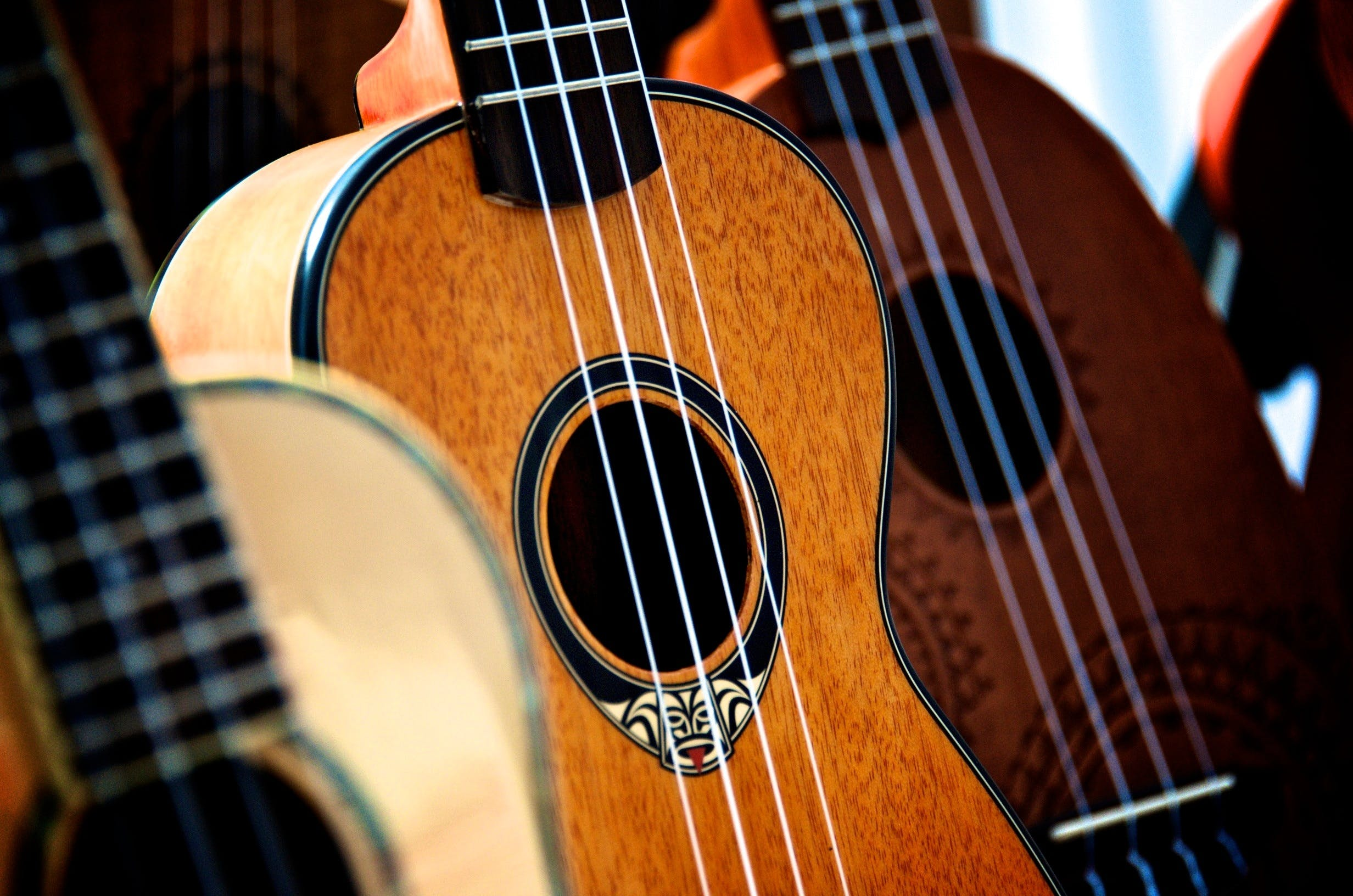 Close-up of Ukulele