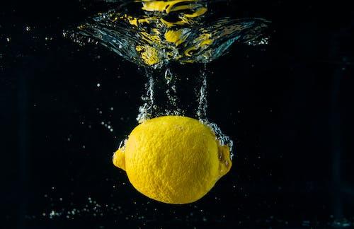 Lemon In Body Of Water