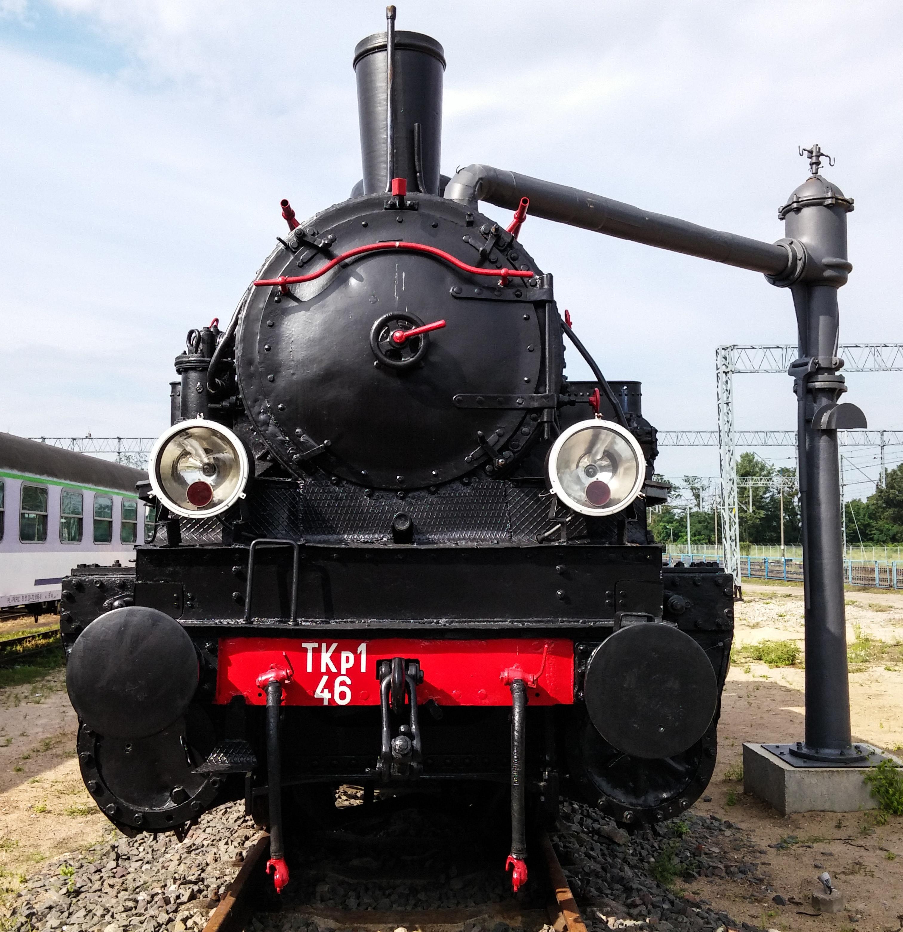 train on railroad track free stock photo