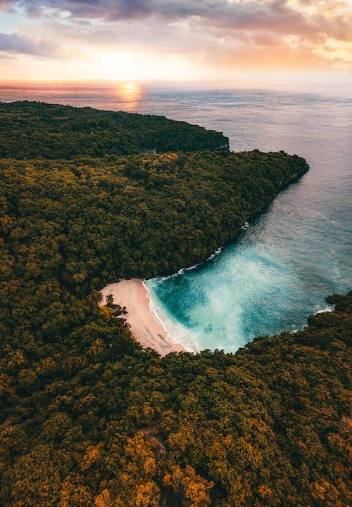 ada, deniz, deniz kıyısı, doğa içeren Ücretsiz stok fotoğraf