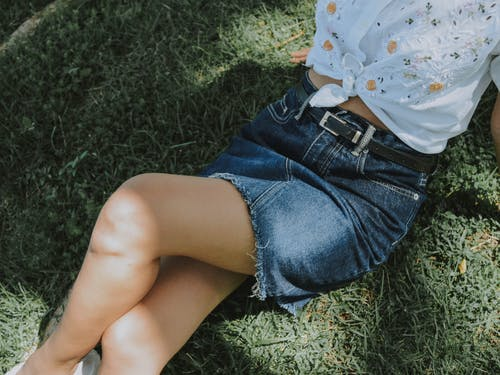 Free stock photo of denim, green, hot, legs