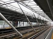 city, construction, train
