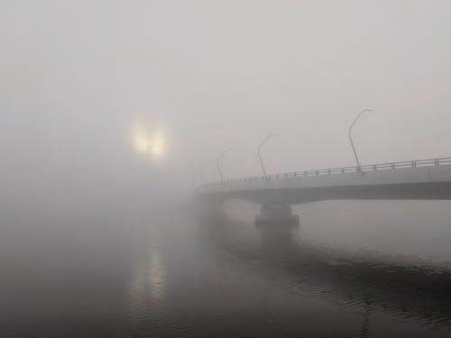 Kostenloses Stock Foto zu brücke, nebel, reflexionen, sydney