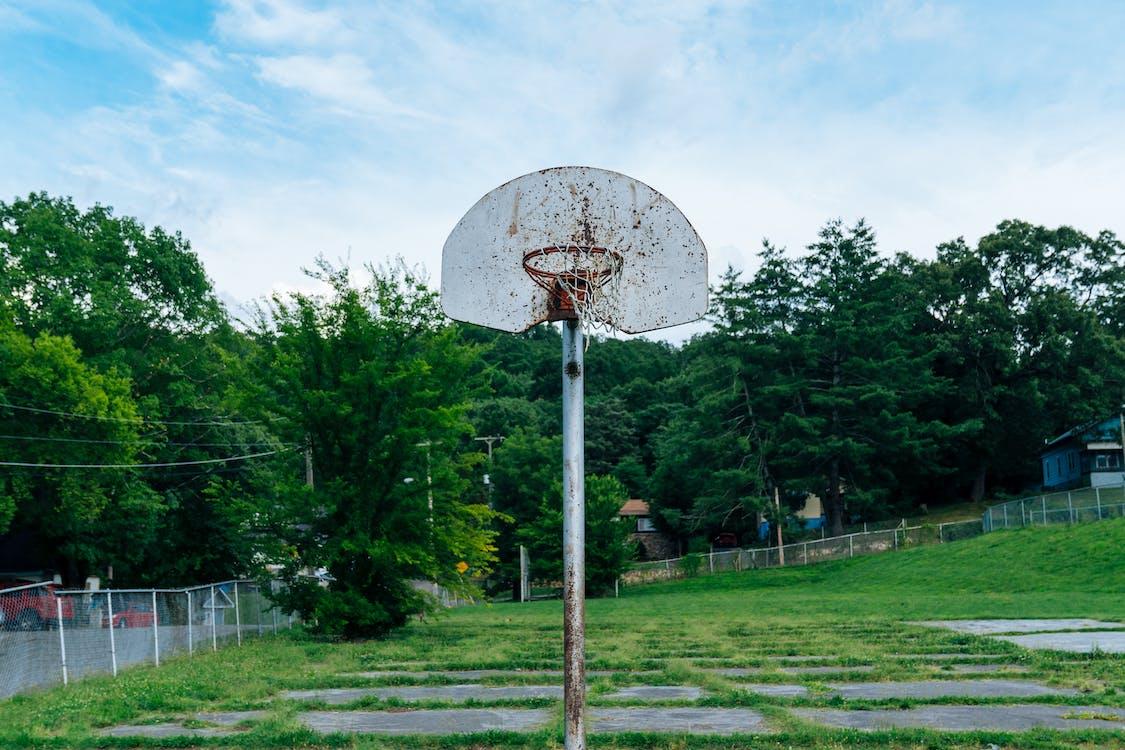 basketbalové hřiště, Basketbalový koš, basketbalový prsten