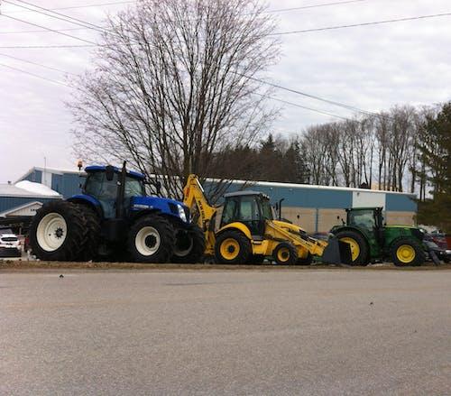 Foto d'estoc gratuïta de tractors