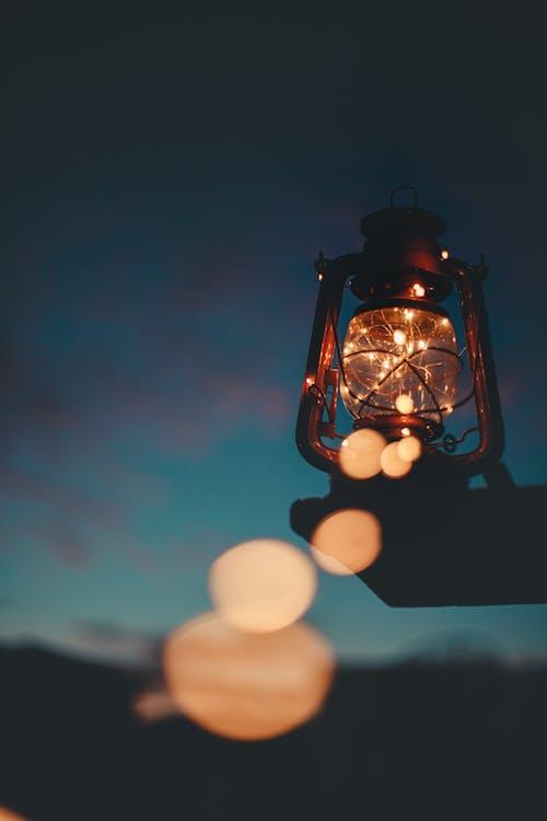 Gratis stockfoto met aangemaakt, fel, lamp, lantaarn
