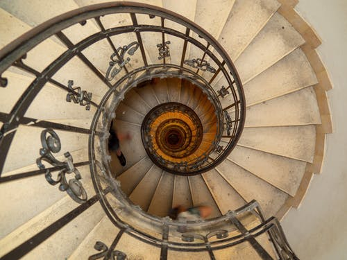 Free stock photo of basilica, Budapest, spiral staircase