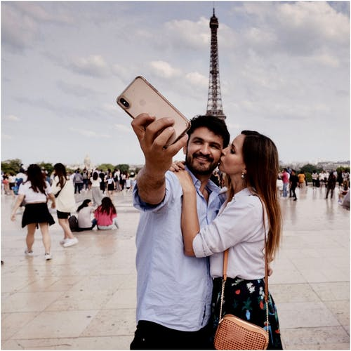 Photos gratuites de affection, amour, attraction touristique, baiser