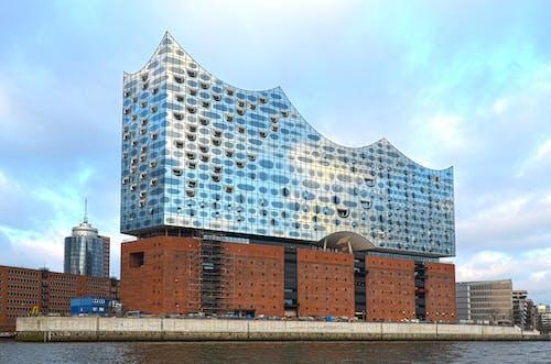 Gratis lagerfoto af arkitektur, by, bygning, elbe philharmonic hall