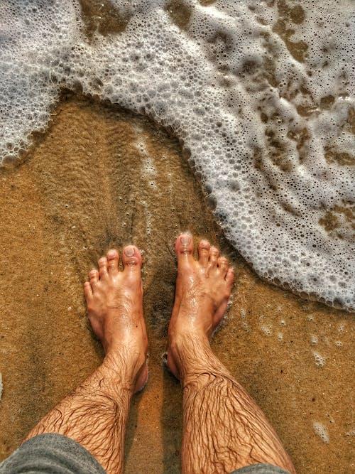 Ilmainen kuvapankkikuva tunnisteilla aallot, auringonlasku, matkakuume, meri