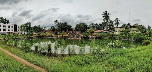 Ilmainen kuvapankkikuva tunnisteilla hindu-temppeli, lampi, luonto, temppeli