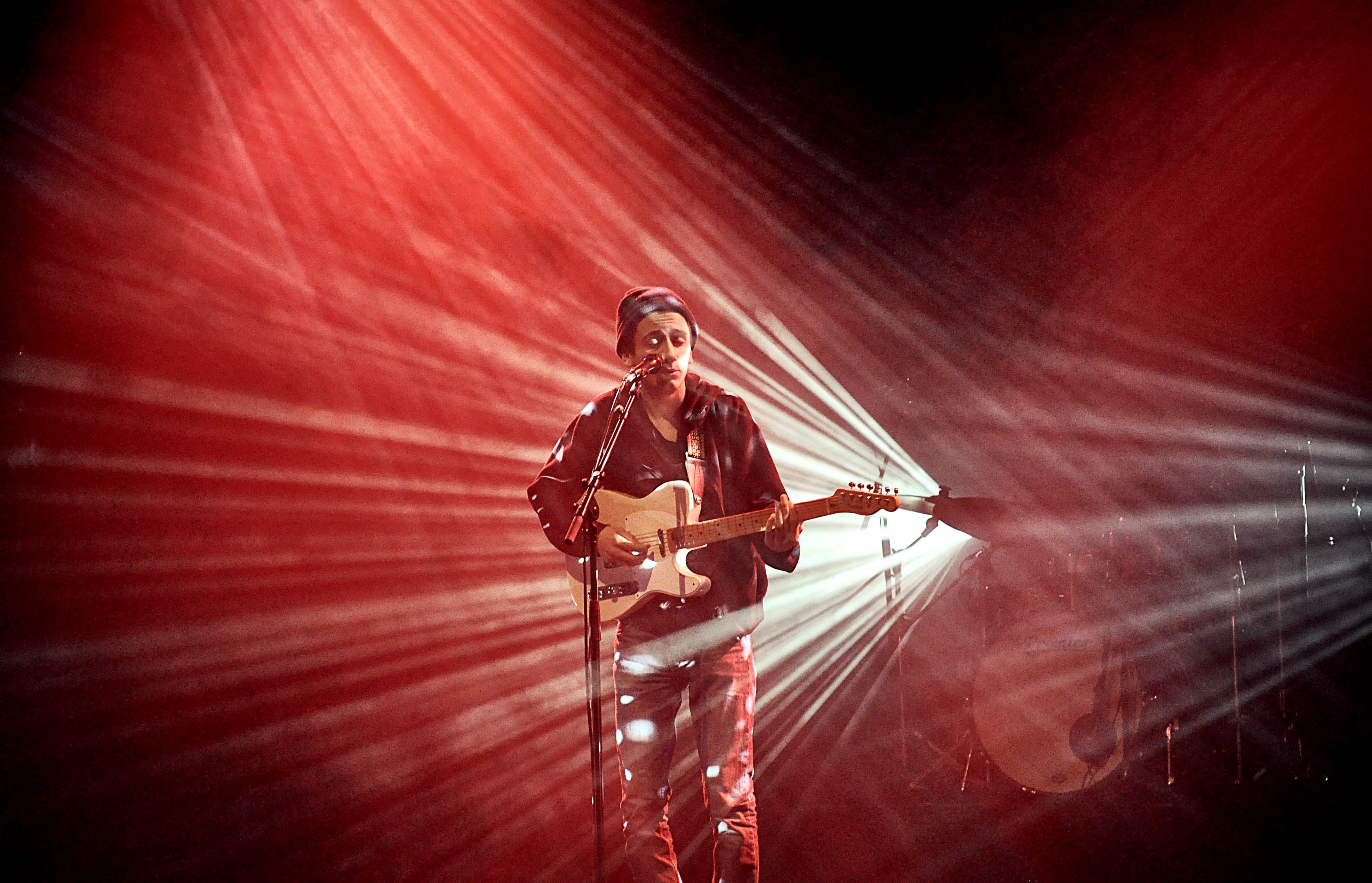 Free stock photo of red, lights, music, show