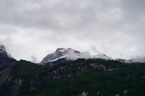 多雲的, 多雲的天空, 天性, 山 的 免费素材照片