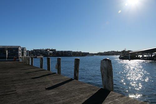 açık hava, ahşap geçit, Avustralya, göl içeren Ücretsiz stok fotoğraf