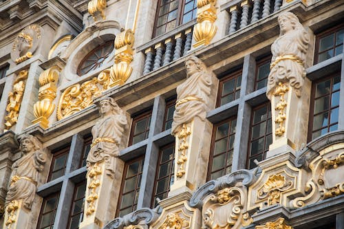 Free stock photo of architecture, brussels, buildings, city