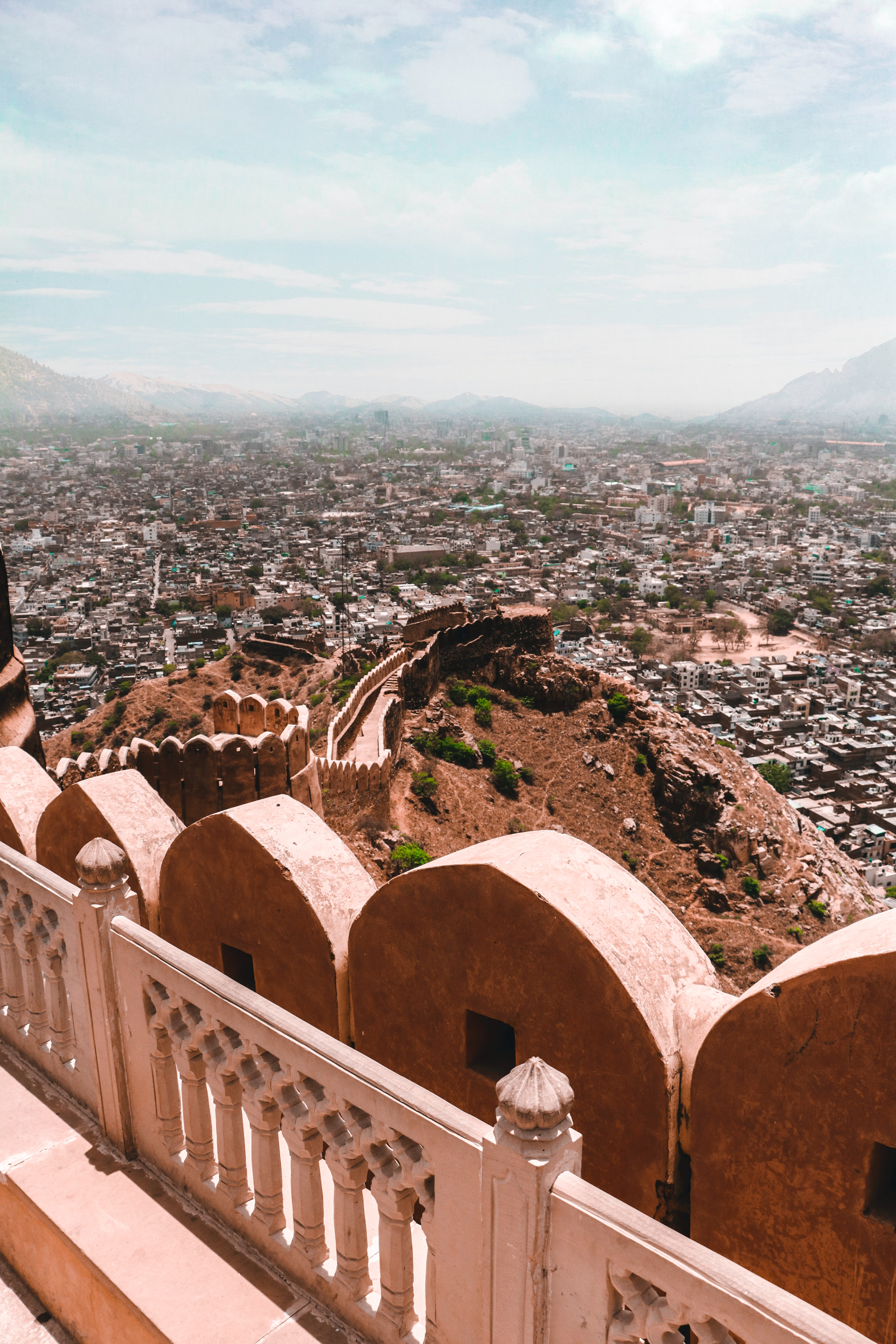 jaipur nahargarh fort rajasthan places tourist india bellezze vedere cosa daytime scenic during photographer