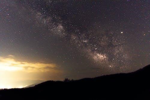 Gratis stockfoto met astrofotografie, lange blootstelling, Melkweg, nachtfotografie