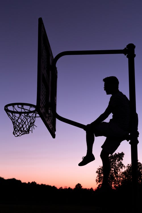 Free stock photo of basket, shadow, sunset