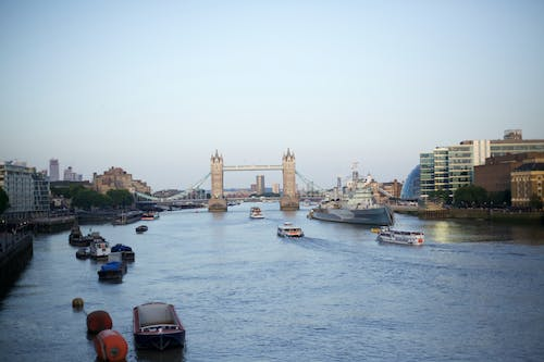 Photo of Boats on River Thames