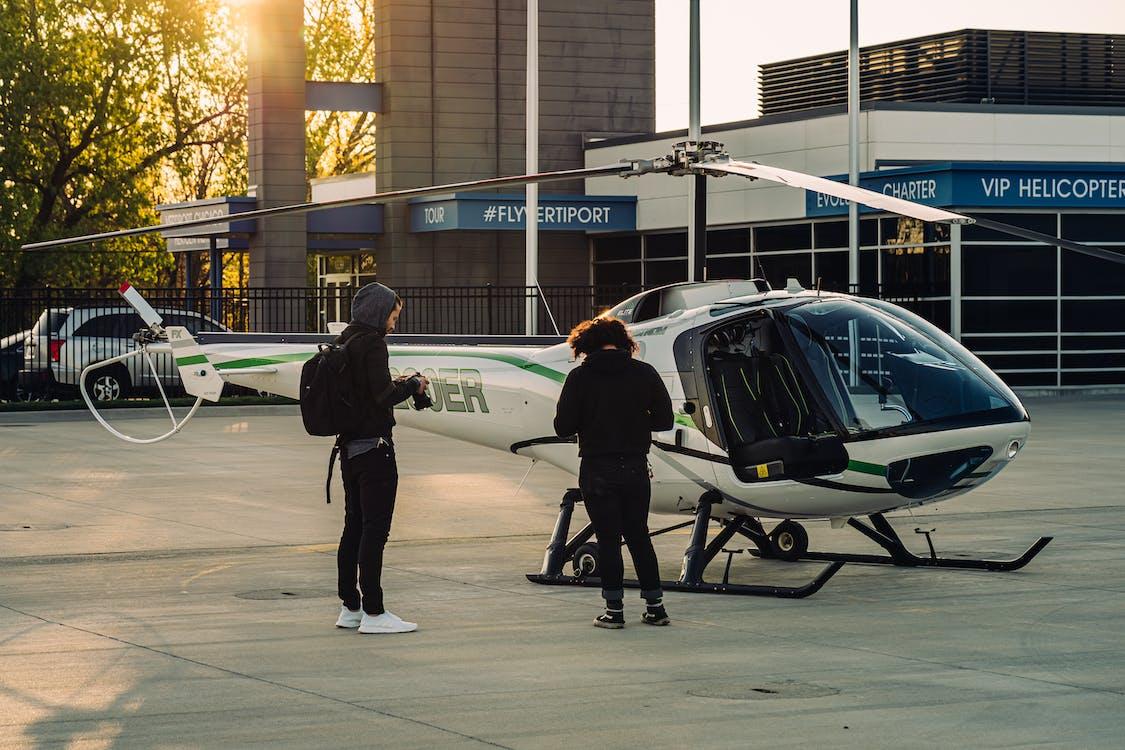 シティ, ヘリコプター, 交通手段