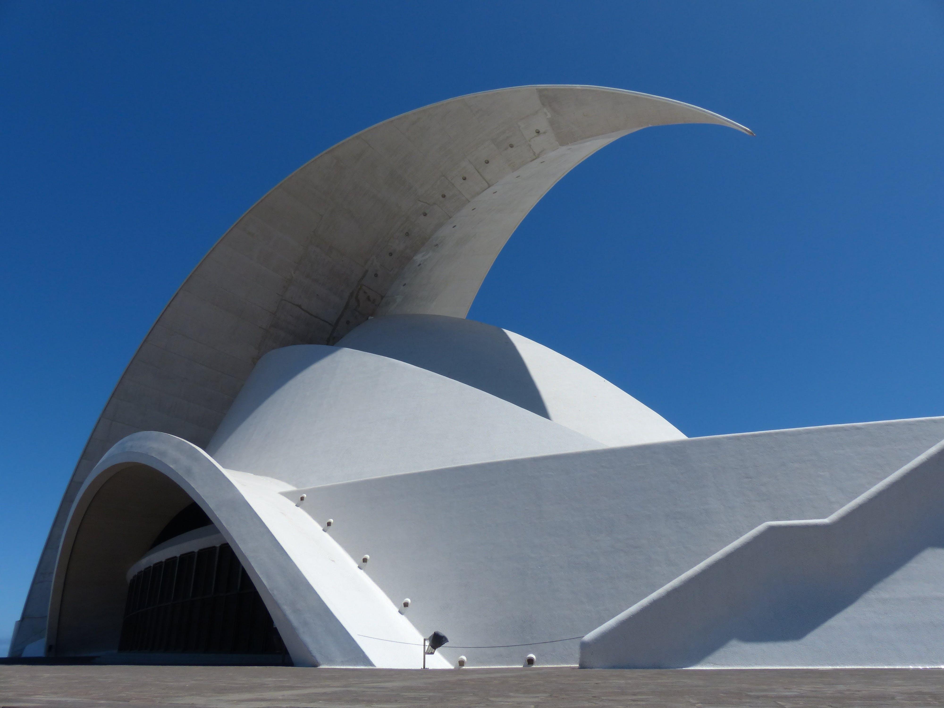 Free stock photo of architecture, auditorio de tenerife, auditorium, auditorium of tenerife