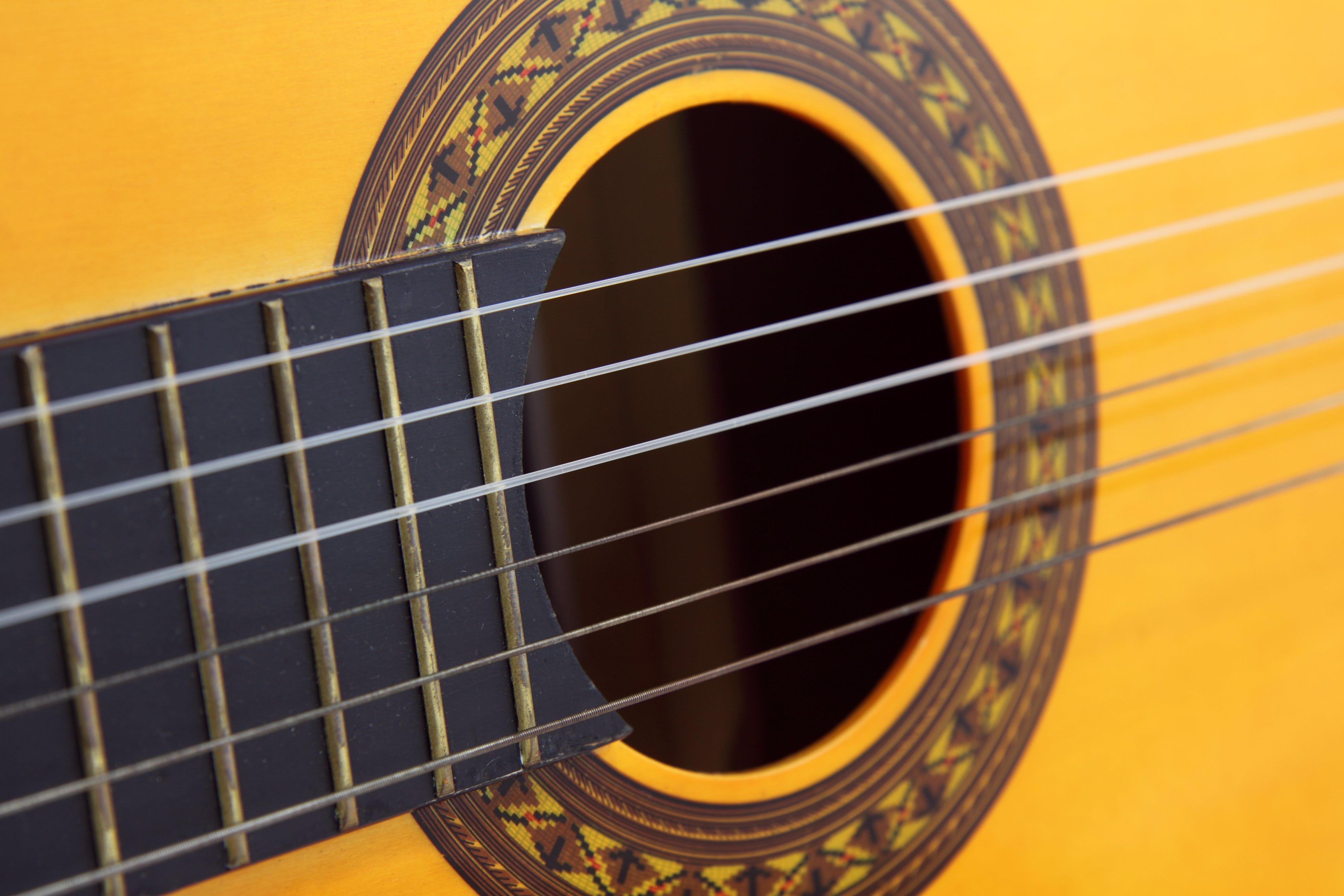 Free stock photo of wood, yellow, music, musician