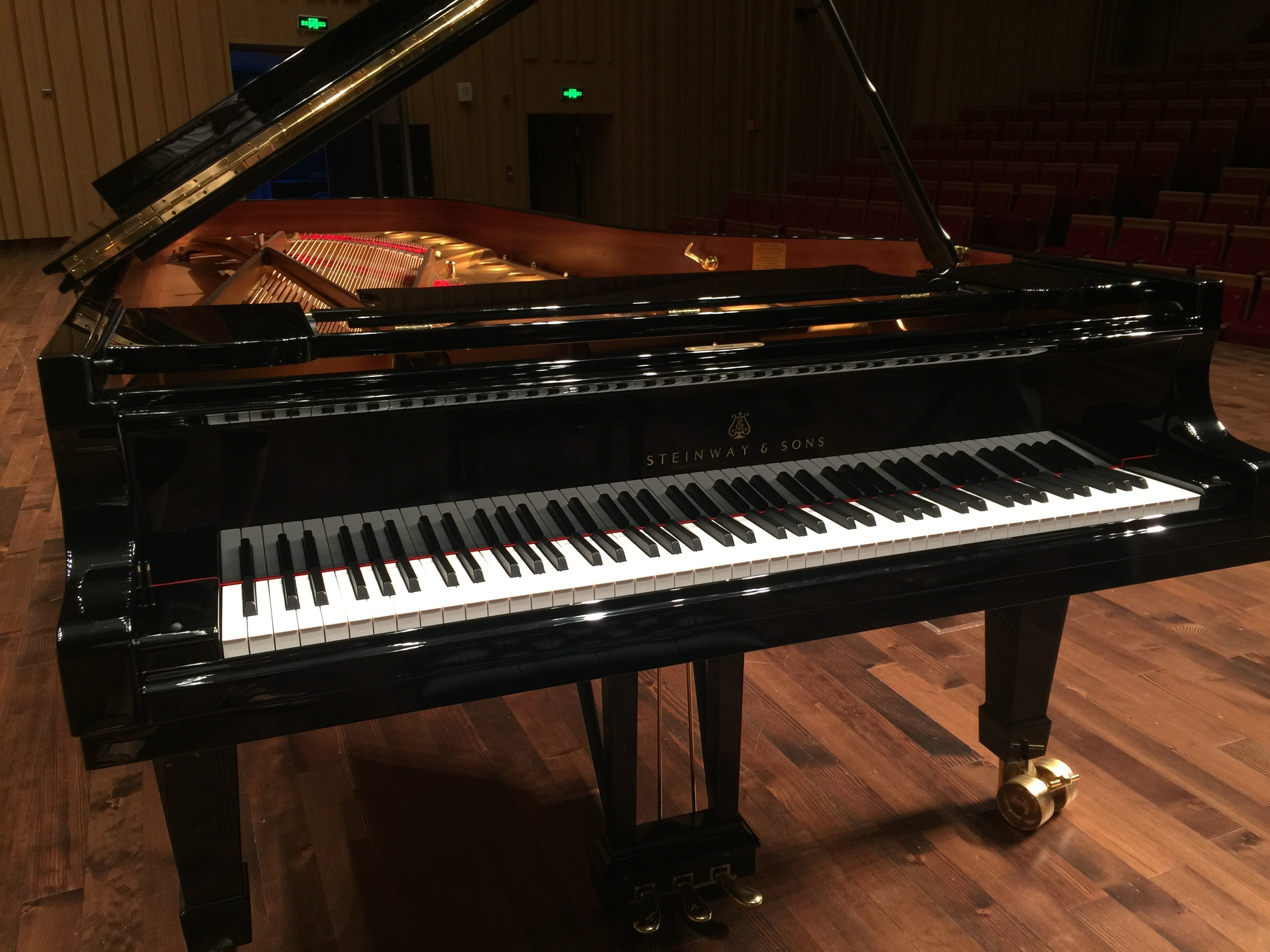 Free Stock Photo Of Changsha Concert Hall Stage Steinway Piano