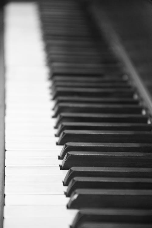 Základová fotografie zdarma na téma klávesy piana