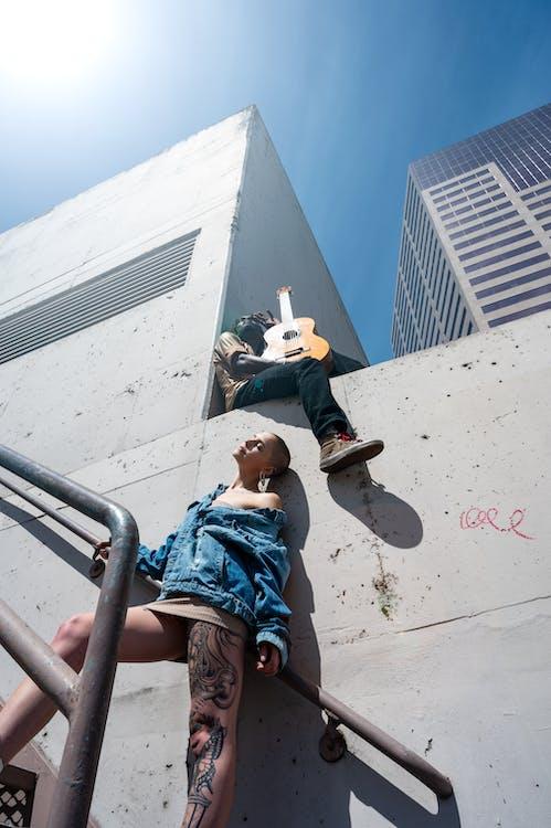 alto, ao ar livre, arquitetura