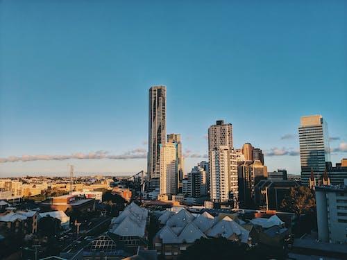 Photo of Cityscape Under Blue Sky