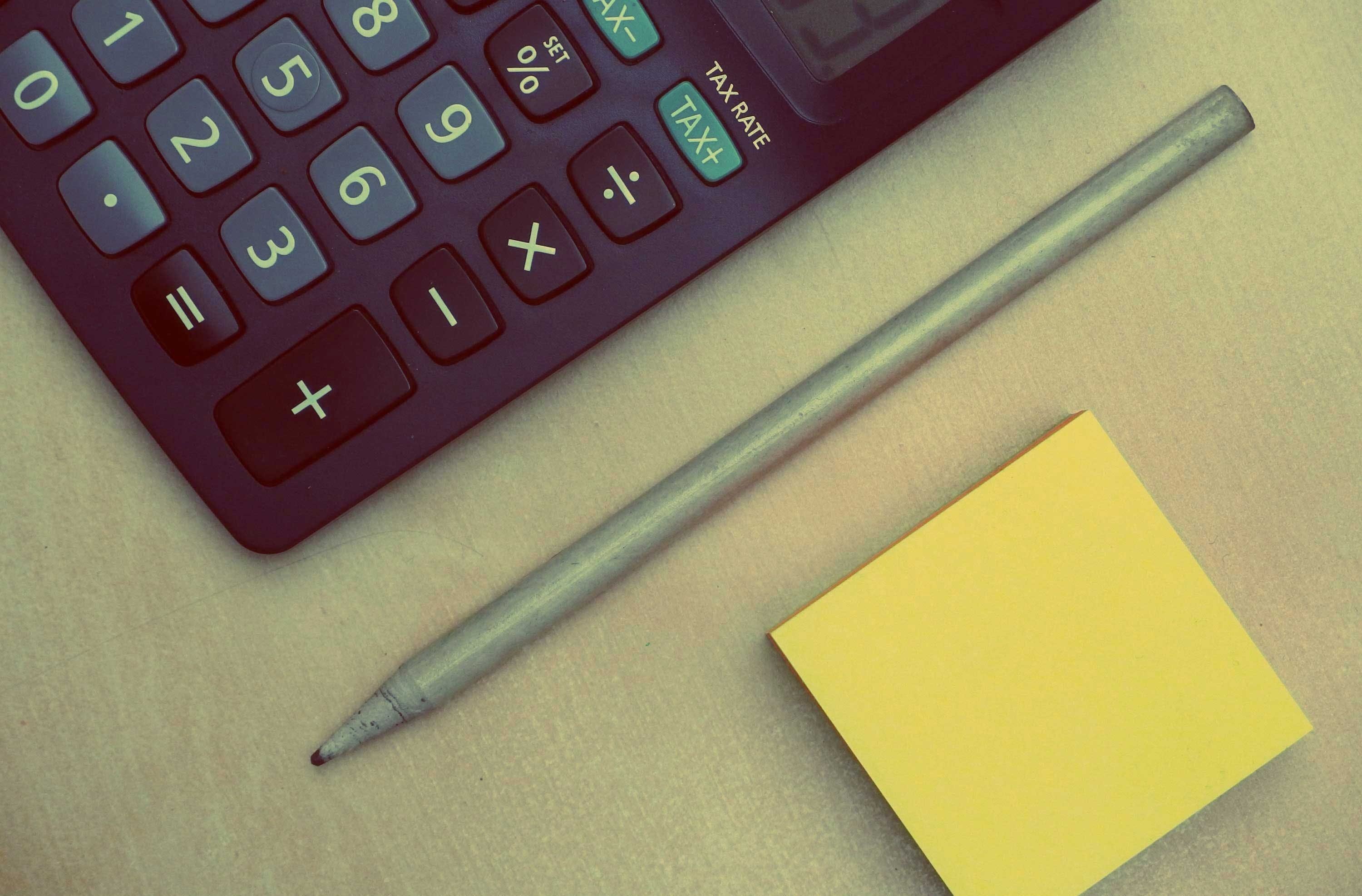 Free stock photo of desk, office, pen, numbers