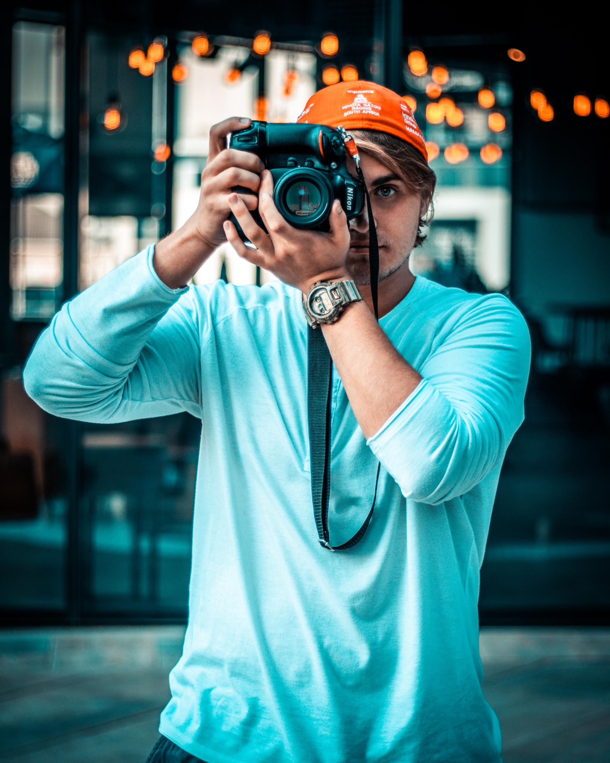 Photo Of Man Taking Pictures