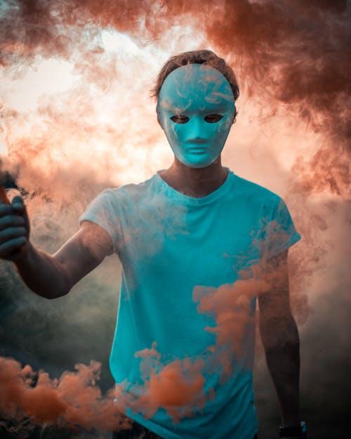 Foto profissional grátis de arte, artística, artístico, bomba de fumaça