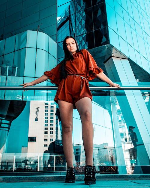 기댄, 난간, 다리, 도시의의 무료 스톡 사진