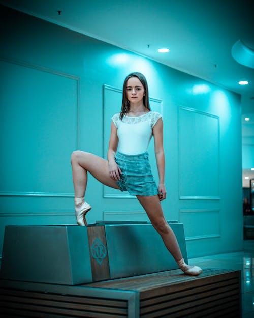 Kostnadsfri bild av ansiktsuttryck, balans, balett, balettdansös