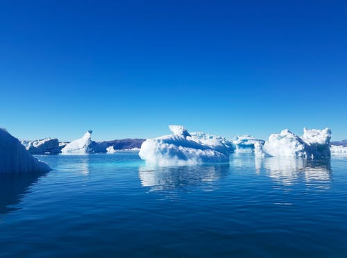 Foto d'estoc gratuïta de arctique, fiord, glace