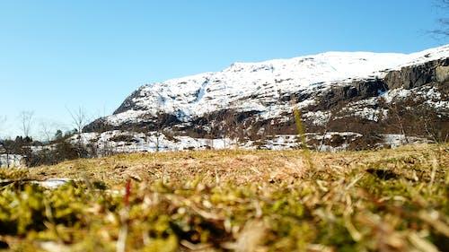 挪威, 漂亮, 白雪皚皚的山 的 免費圖庫相片